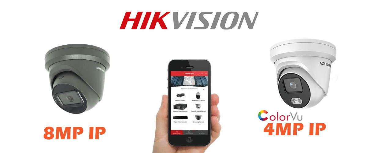 HIK Vision CCTV Camera Systems